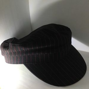 518b56688e71b Cotton On Accessories - NWT Striped Bailey Baker Boy Hat